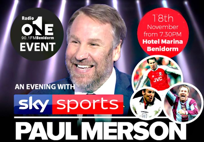 Evening with Paul Merson-Events
