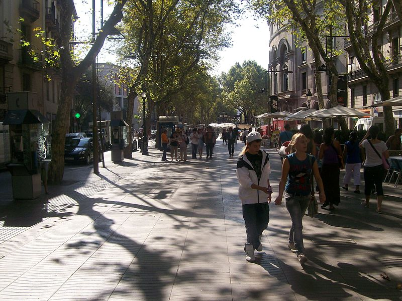 Christmas Shopping in Barcelona