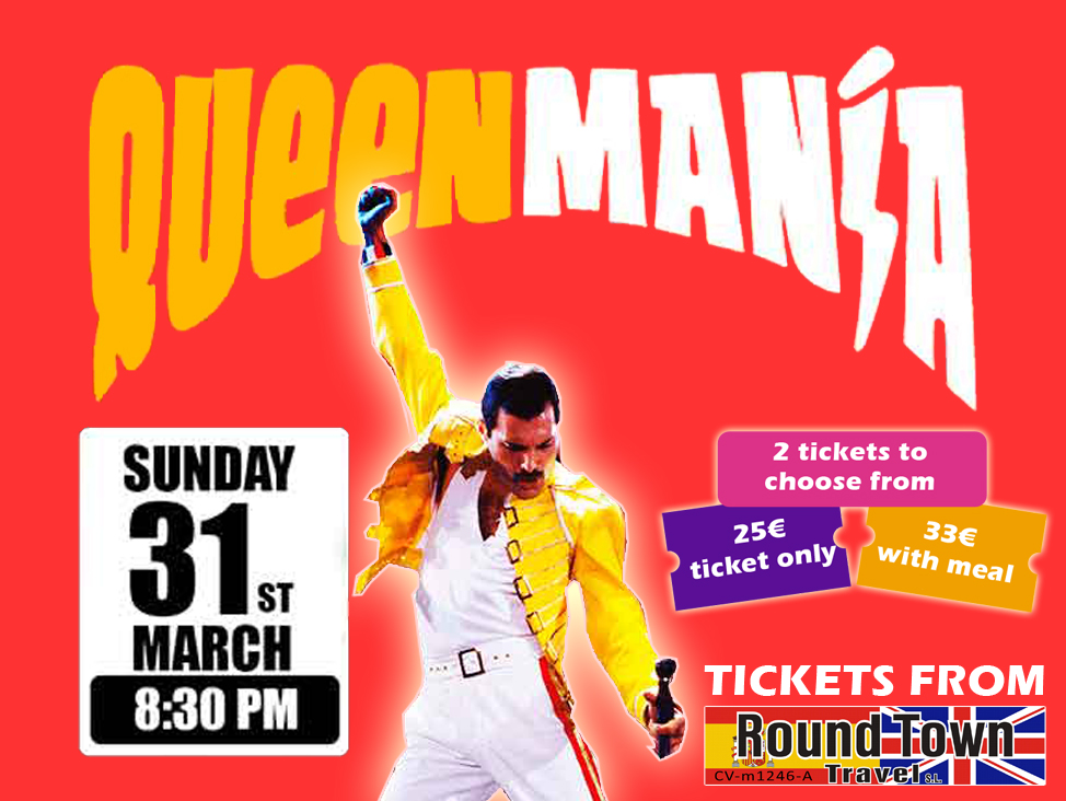 Queen Mania at Benidorm Palace-Events