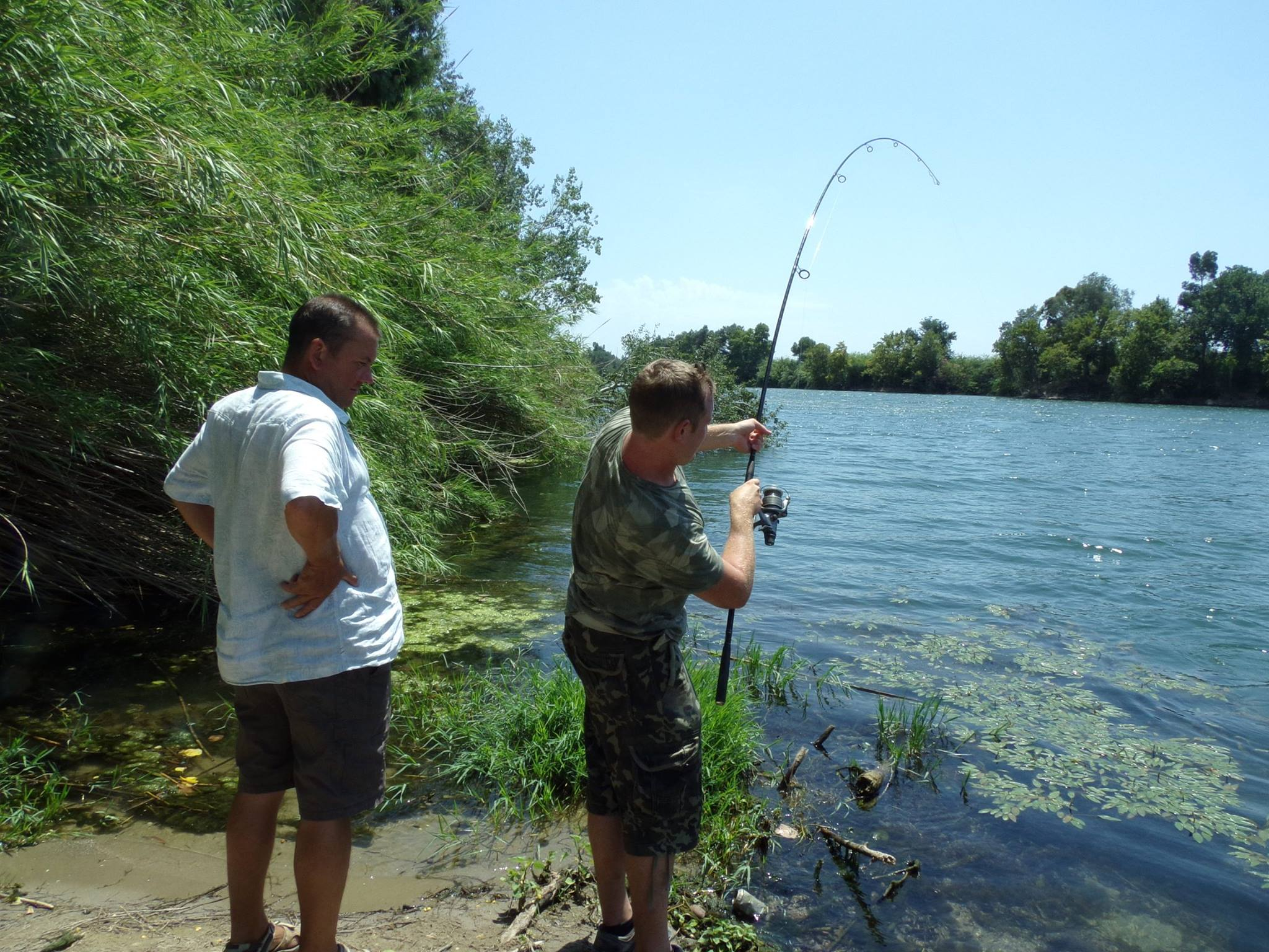 Carp Fishing-Activities