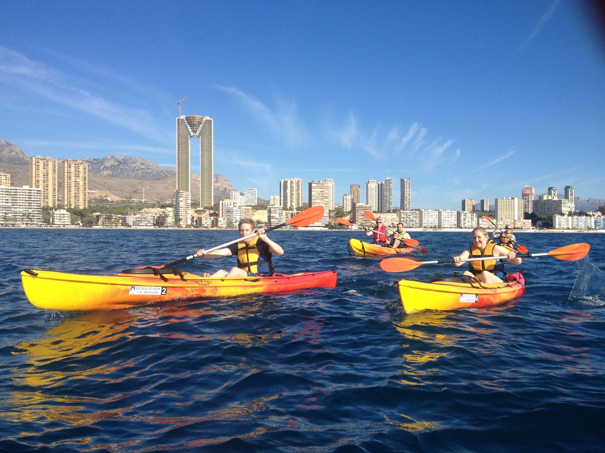 Sea Kayak-Activities