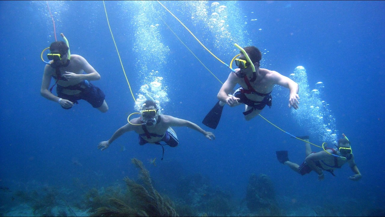 Hookah Dive-Activities