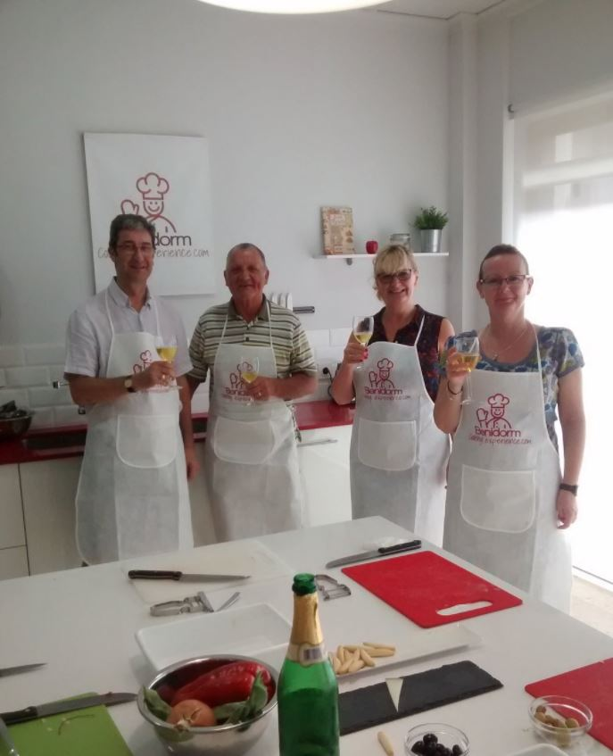 Photo from Tapas Cooking Workshop