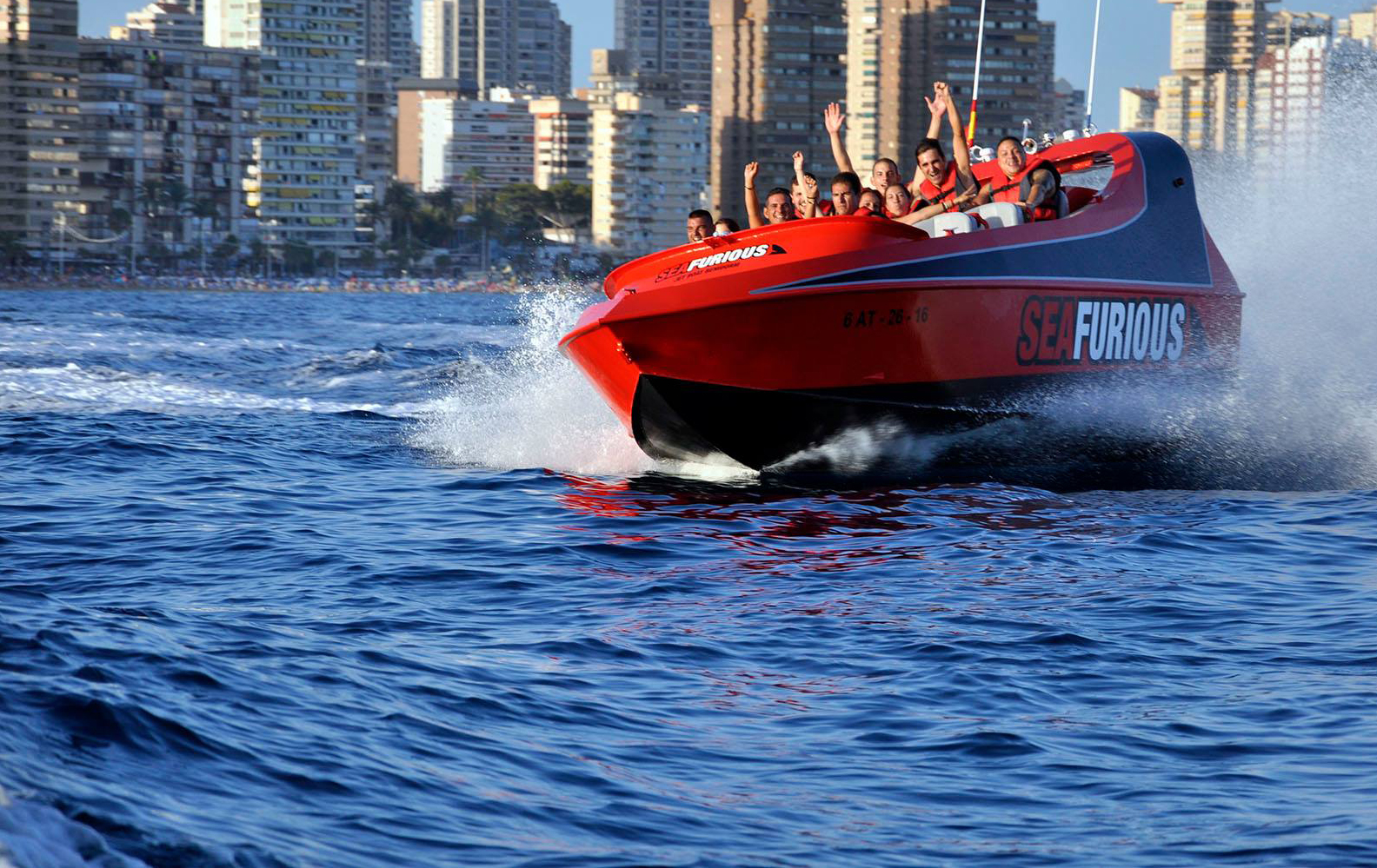 Photo from Sea Furious Powerboat